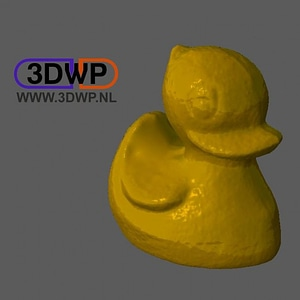 Rubber Ducky 3D Model