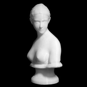 Bust of The Greek Slave 3D Model