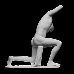 Kneeling Man, Niobid, or Wrestler 3D Model
