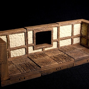Tudor Window 3D Model