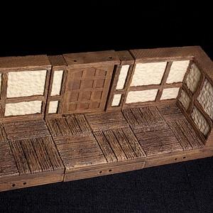 Tudor Door 3D Model