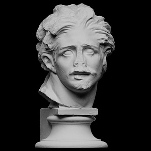 Head of a Gaul 3D Model