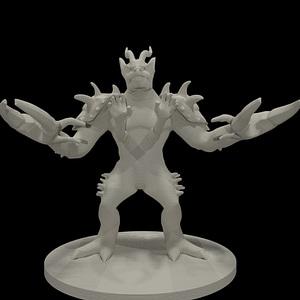 Glabrezu 3D Model
