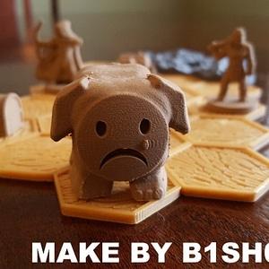 Sad Tofu! IMPORTANT NOTICE! 3D Model
