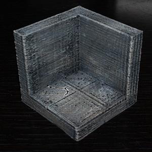 Smooth Corner Tile 3D Model