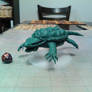 Dragon Turtle 3D Model