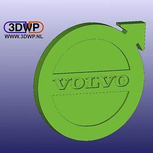 Volvo Logo Wall Hanger 3D Model