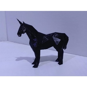 Low Poly Unicorn 3D Model