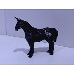 Low Poly Unicorn 3D Model