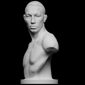 Boxer Emil Andreasen 3D Model