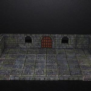 Cut-Stone Window 3D Model