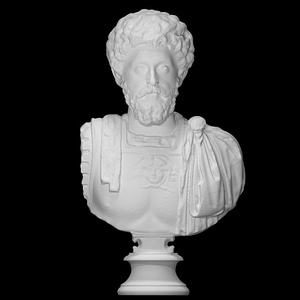 Marcus Aurelius Bust 3D Model