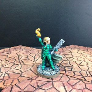 Wayfarer Miniatures: Elf Street Mage 3D Model