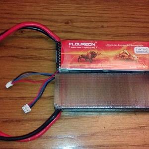 Lipo case (Floureon 2S 7.4V 5000mAh) 3D Model