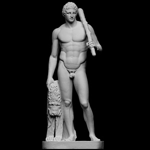The Lansdowne Hercules 3D Model