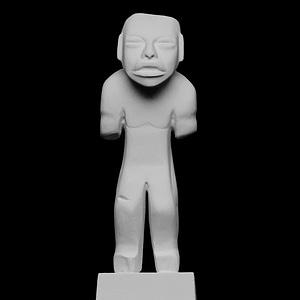Olmec Man 3D Model