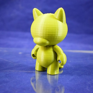 Munny Blank Cat 3D Model