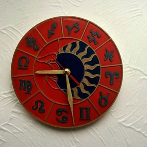 Wall Clock Zodiac Circle 3D Model