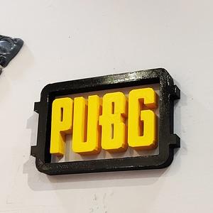Pubg Logo 3D Model