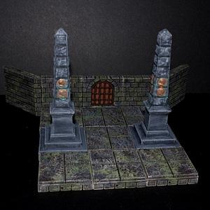 Slottsmöllan Obelisk 3D Model