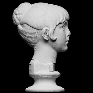 Young Girl, Antoninian Princess 3D Model