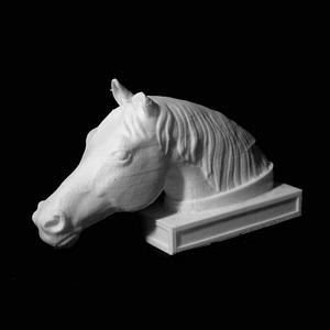 Head of a Horse 3D Model