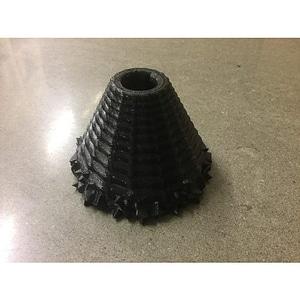 Volcano Flower Pot 3D Model