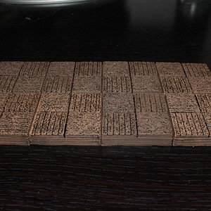 Wood Floor Tile 3D Model