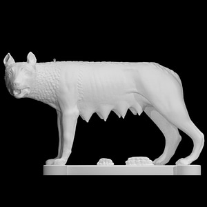 Capitoline Wolf 3D Model