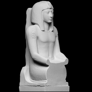 Pharaoh Seti II 3D Model