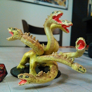Hydra for tabletop gaming 3D Model