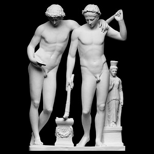 Castor and Pollux - San Ildefonso Group 3D Model