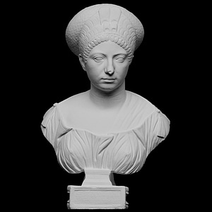 Portrait of Claudia Olympias 3D Model