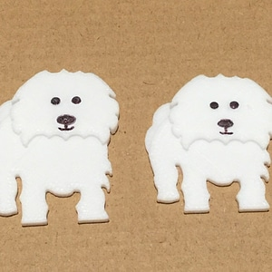 Coton De Tulear Fridge Magnets 3D Model