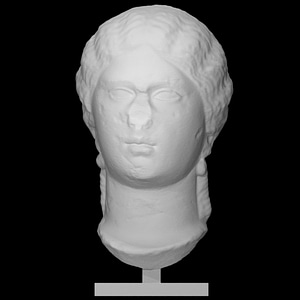 Portrait of an unknown woman 3D Model