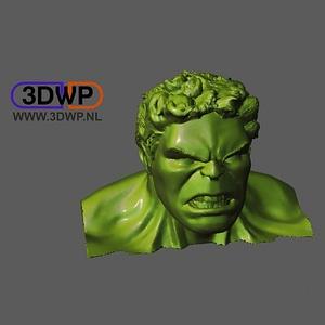 Hulk Bust 3D Model