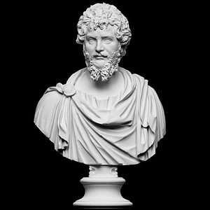 Portrait of Septimius Severus 3D Model