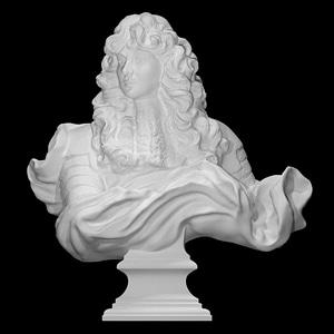 Louis XIV 3D Model