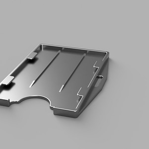 ID Card Holder 3D Model
