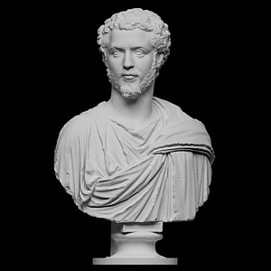 Portrait of a Man, probably Septimius Severus 3D Model