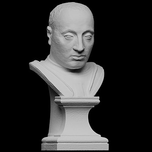 Portrait of Lodovico III Gonzaga 3D Model