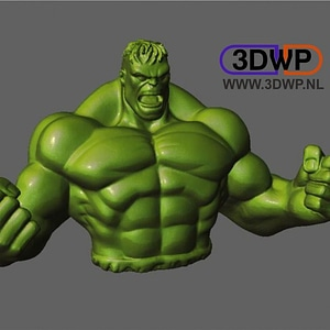 Hulk Sculpture 3D Model
