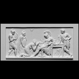 Priam Pleads with Achilles for Hector's Body 3D Model