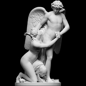Amor and Psyche 3D Model