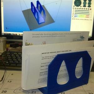 Letter Holder 3D Model