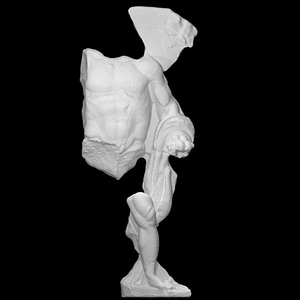 Hercules and the golden apples of the Hesperides 3D Model