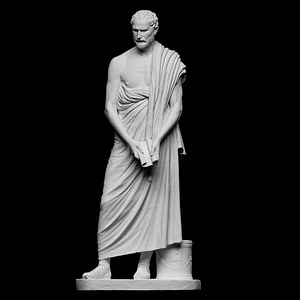 Portrait of Demosthenes 3D Model