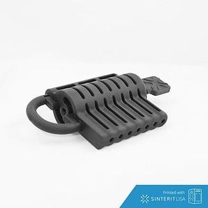 Barrel padlock 3D Model