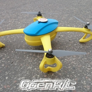 OpenRC Quadcopter (Beta) 3D Model