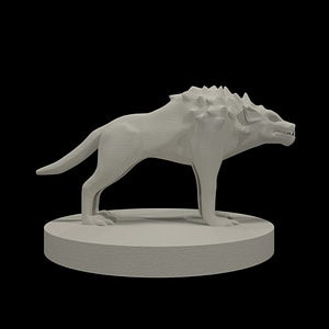 Hell Hound 3D Model